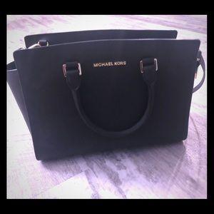 Black Michael Kors purse